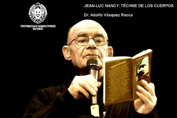 NANCY Jean-Luc _ Foto Por Adolfo Vasquez Rocca _ UCM_ 2013